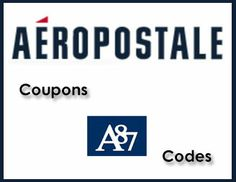Aeropostale Promo Codes – December 2013 Updates Coupon Dad has all the latest Aeropostale promo codes and coupons for you to save on your next purchase! I keep this page constantly updated with the latest deals and coupons, so make sure to book mark it and check back before your next trip to the Aeropostale …