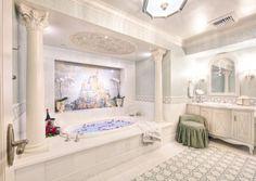 fairytale suite bathroom disneyland hotel