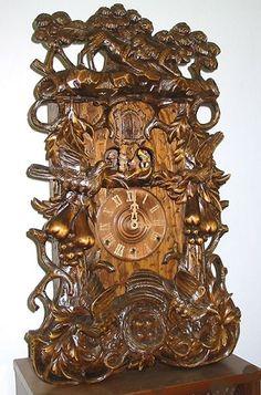 German Original Black Forest Cuckoo Clocks