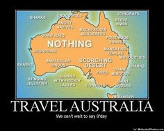 But not just ANY humour ~ Australian humour.