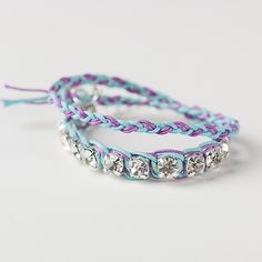 Get a downtown girl look in this bracelet that will give you a glam look while you're club hopping.