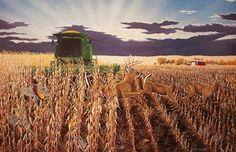 Harvest Suprise by South Dakota artist Robert E. Hinton