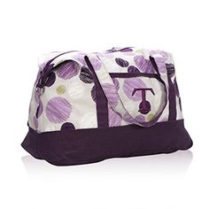 Thirty-One Gifts - Retro Metro Weekender, I love this! #ThirtyOneGifts #ThirtyOne #Monogramming #Organization #RetroMetro