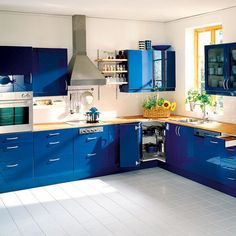 The Best Ideas for Combined Colour Kitchens: Combined Colour Kitchens13 ~ pedantique.com Kitchen Inspiration