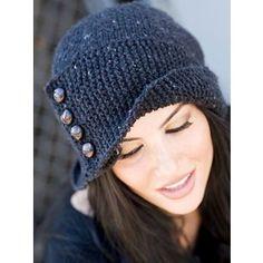 Modelos de gorros tejidos a crochet o ganchillo Estilo Total - Polyvore