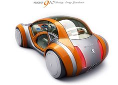 Peugeot car design from allworldcars.com