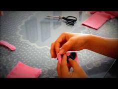 ▶ Como hacer flores de tela - YouTube