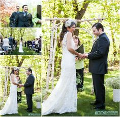 Check out the beautiful pictures of Maureen & Scott's wedding at the Christmas Farm on May 17th!  We just love these! Credit to Jordan of Anne Skidmore Photography. - http://www.asweddings.com/