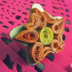 Quilling ring