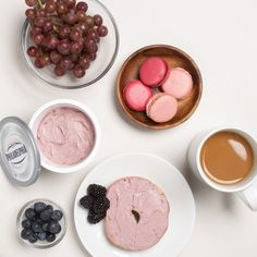 Reimagine your brunch with Mixed Berry Whipped Cream Cheese.
