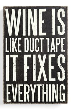 wine...yes it does!