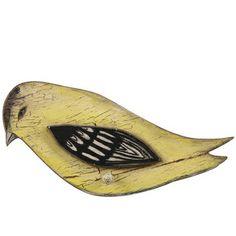 Bird Plaque with Peg