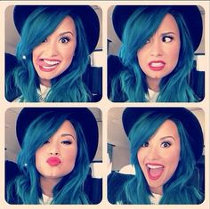 Demi Lovato;; really don't care ✌