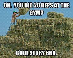 amen! them gorgeous muscles gotten be earned!