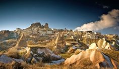 Capadoccia has got to be one of the craziest places on earth. A travel must cave resort, resorts, caves, spas, travel, turkey, place, luxury hotels, cappadocia cave