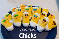 "From Life with Moore Babies, adorable ""Nutter Butter Chicks"" emerging from their egg shells!"