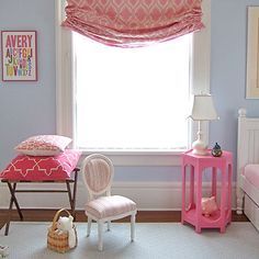Love the curtains for the girls' room