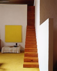 Luis Barragán home - Library stairs