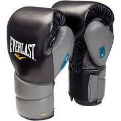 my newest gloves!!!!! Everlast ProTex2 Evergel Training Gloves, Black