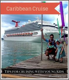 Cruise along stress-free with these tips for sea travel with kids.- Little Passports #littlepassports #cruise #travelwithkids