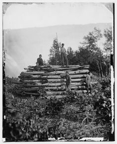 Elk Mountain, Maryland. Signal tower overlooking Antietam battlefield, Alexander Gardner photographer, 1862 Sept. or Oct., Library of Congress Prints and Photographs Division Washington, DC