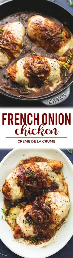 Fench Onion Chicken