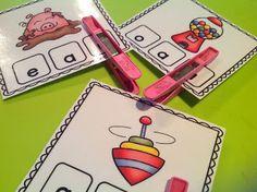 Teachable Moments blog - Clip It - Medial Vowel Sounds