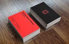 Christian Vizcarra Bran Business Card #branding #visualidentity #logodesign #corporateidentity #stationery