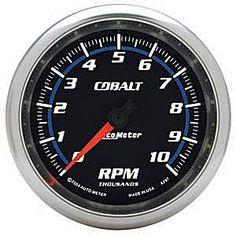 Auto Meter Cobalt Tachometer In-Dash