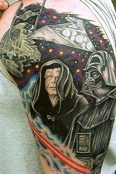 tattoo ideas, nerdi awesom, bodi art, stars, tattoo artists, war ink, star wars, son, awesom star