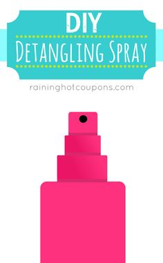 DIY Detangling Spray