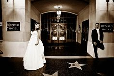 Hollywood Red Wedding at Roosevelt Hotel, Los Angeles
