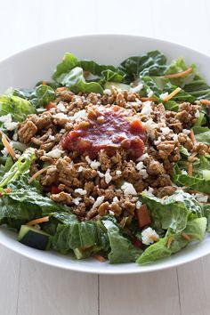 Healthy Turkey Taco Salad