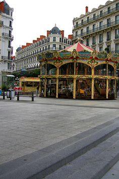 Lyon, France-  rue de la République