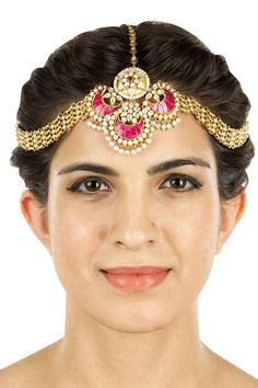 Unique #MaathaPatti Head #Jewelry  by AMRAPALI. Shop now at perniaspopupshop.com