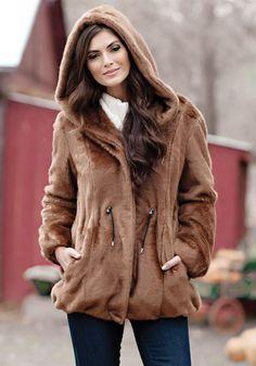 Faux Fur Womens Jackets