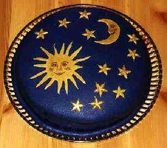 sun-moon-and-stars cake