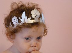 Birthday Princess Crown The Spring Rose Crown by PrincessAbigaila, $18.00