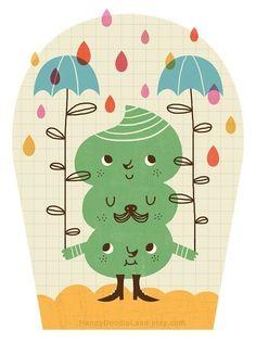 rain monster
