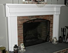 Decoration, Diy Fireplace Mantel Plans: Get A Charming Fireplace Look with DIY Fireplace Mantel