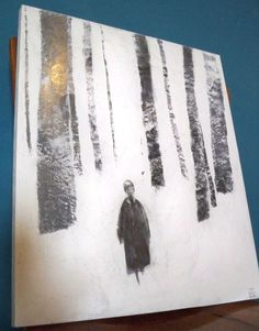 Harry Potter in the Snow Art