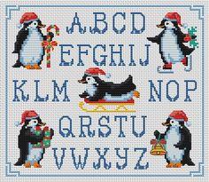 Cross Stitchers Club Penguins