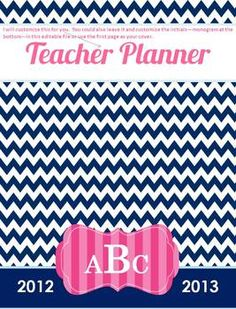Teacher Planner! created for a teacher by a teacher, very specific to our needs, editable, common core at a glance, $