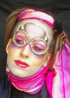 Circus Inspired Make-up