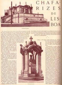 Lisboa: CHAFARIZES de LISBOA