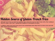 Day 7: Hidden Source of Gluten: French Fries #glutenfree #celiac #glutenfreediet