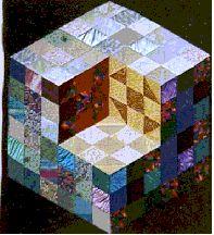Karen Combs Harlequin Cube