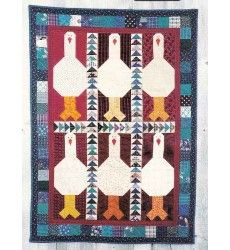 Quilt Pattern - Giggle of Geese - Country Threads 193: Sewjewel.com