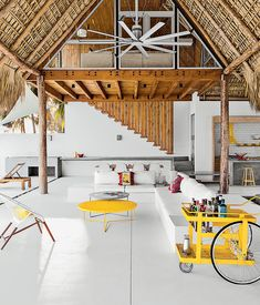 In this El Salvadorean beach house, it's nearly impossible to tell if you're inside or outside, thanks to interior gardens and minimal dividing walls.  Photo by: Jason BaxCourtesy of: Jason Bax