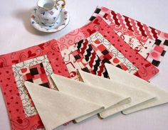 Quilted American Girl Placemats Place Mats by DollPatchworks, $18.00
